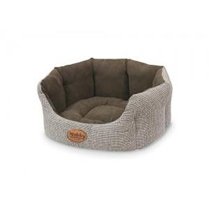 Nobby Comfort Bed JOSI brown 55x50x21