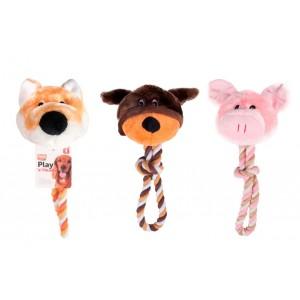 Fla. Dog Toy Animal head 30cm
