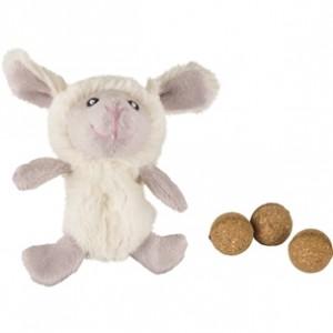 Fla.toy for cats lamb TUX + catnip