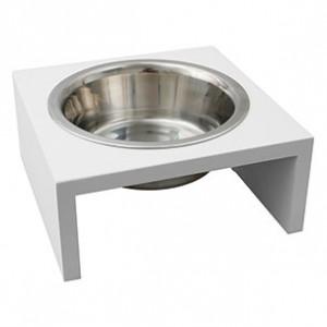 Fla. DOG DISH SOLO 380ml white