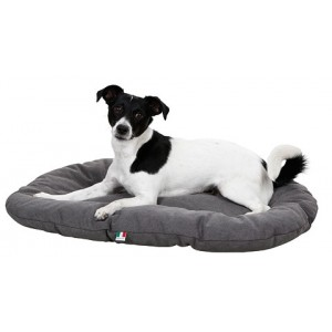 Kerbl cushion LUCCA grey 117x75 cm