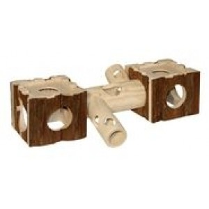 Kerbl wooden house for hamsters 39x19x12cm