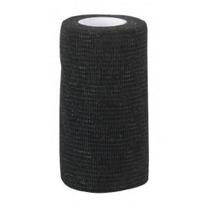 Kerbl elastic bandage black 7,5cm 4,5 m
