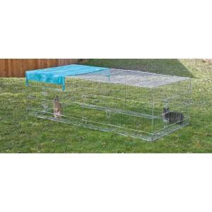 Kerbl Outdoor enclosure with Escape Lock