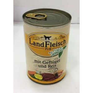 Landfleisch bird& Rice 400g