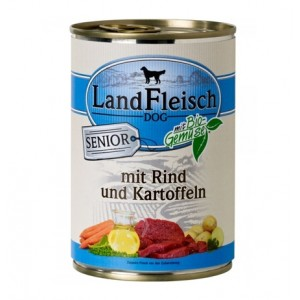 Landfleisch Senior Beef & Organic Vegetables 400g