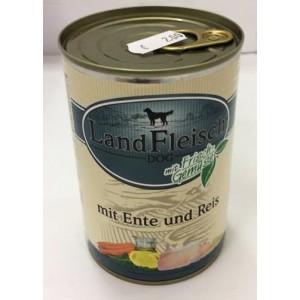 Landfleisch Dog duck & Rice 800g
