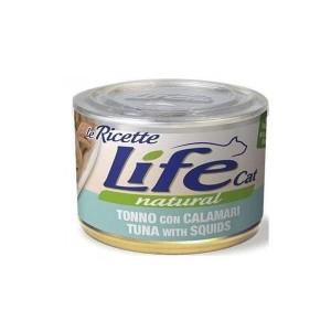 Life Cat LeRicette squid & beans 150g