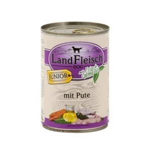 Landfleisch Junior Turkey & Organic Vegetables 400g