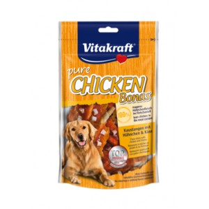 Vitakraft Nahktikud kana ja juustuga 80g