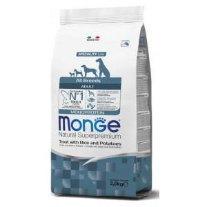 MONGE NATURAL MONOPR.trout15kg