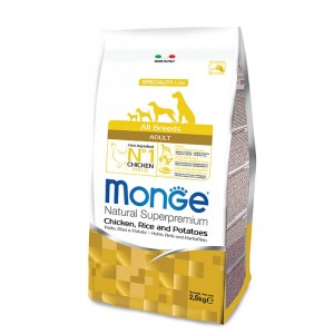 MONGE AB ADULT chicken & rice 12kg