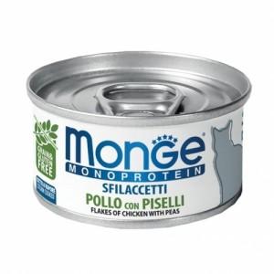 MONGE Mono Chicken and peas 80g