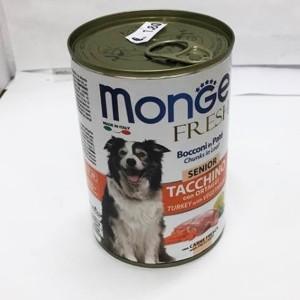 MONGE Fresh SENIOR turkey 400g