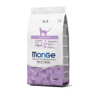 MONGE CAT Sterilized 10kg