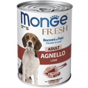 MONGE Fresh ADULT lamb 400g