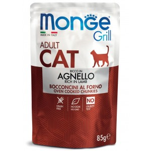MONGE GRILL Cat lamb 85g