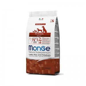 Monge MINI AD Lamb&Rice dog food 12kg