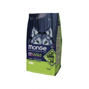 Monge BWILD Adult Dog Food Boar 12kg
