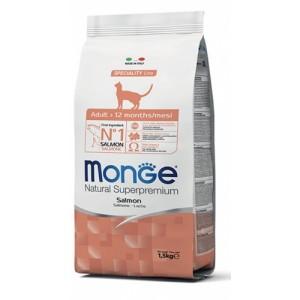MONGE CAT GRAIN FREE SALMON 1,5kg