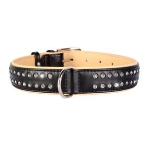 CO collar black 12mm/21-29cm