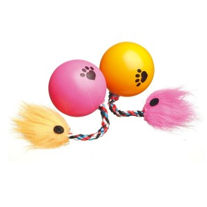 Camon Cat Ball with rope 3,5 cm