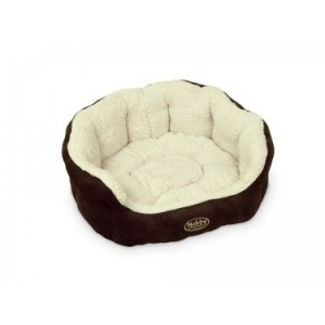 Nobby Comfort Bed TAIKA brown/white 65*57*22cm