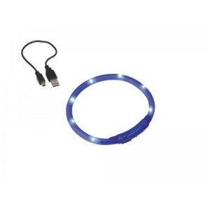 Nobby collar LED blue 40cm