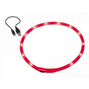 Nobby collar LED red 70cm