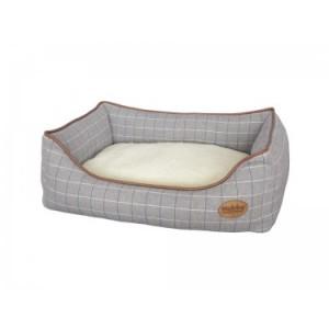 "Nobby comfort bed grey ""REMO"" 75x60x23cm"