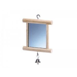 Nobby bird toy mirror 10 x 10cm