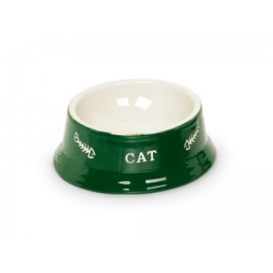 Nobby bowl for cats green 13,5cm