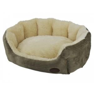 Nobby cushion SHASHE brown 55x50x21cm