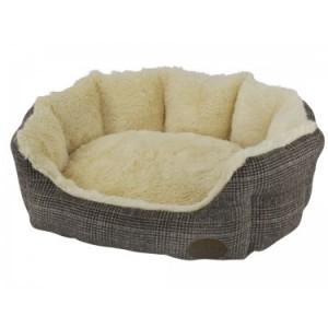 Nobby cushion OTI brown 55x50x21cm