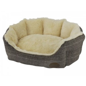 Nobby cushion OTI brown 45x40x19cm