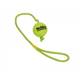 Nobby Tennisball with Throw Rope