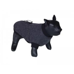 Nobby coat for dogs MINIK dark grey 37cm