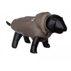 Nobby coat for dogs BULLY M taupe 37cm