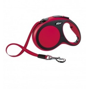 NOBBY Flexi NEW CLASSIC L red 5m