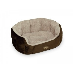 Nobby comfort bed KAMEGA brown 45x40x19cm