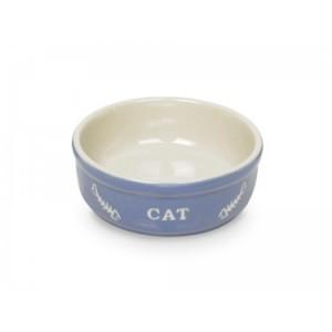 Nobby ceramic bowl for cats blue ¤13cm