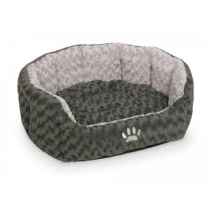 Nobby comfort bed SEOLI grey 55x50x21cm
