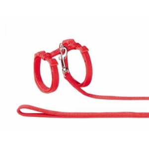 Nobby red harness for cats