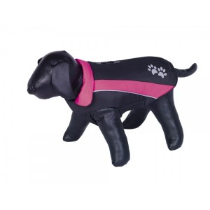 Nobby coat for dogs SABI black/pink 70cm
