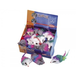 "NOBBY toy for cats ""mouse"" 7,5cm"