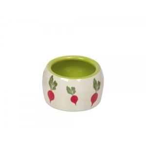 Nobby ceramic bowl RADISH ¤14cm0,5L