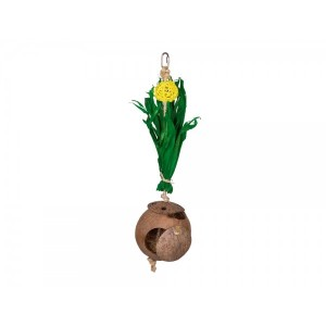 Nobby COCONUT HOUSE with corn leaves 43x11cm