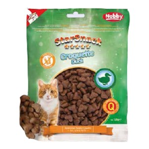 Nobby cat treat CROQUETTE duck 125g