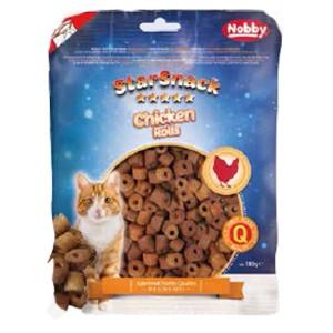 Nobby cat treat CHICKEN ROLLS 180g
