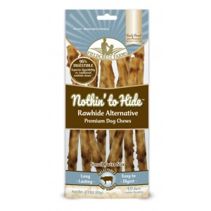 NOTHIN HIDE chewing roll BEEF 10pc